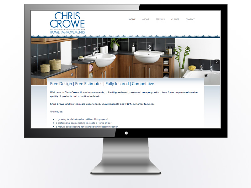 Chris Crowe Home Improvements Website*