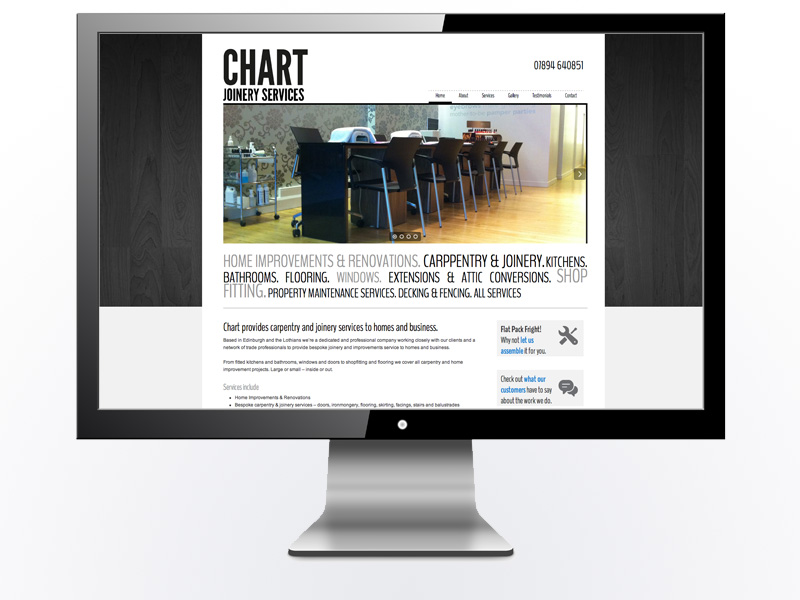 Chart Joinery Website