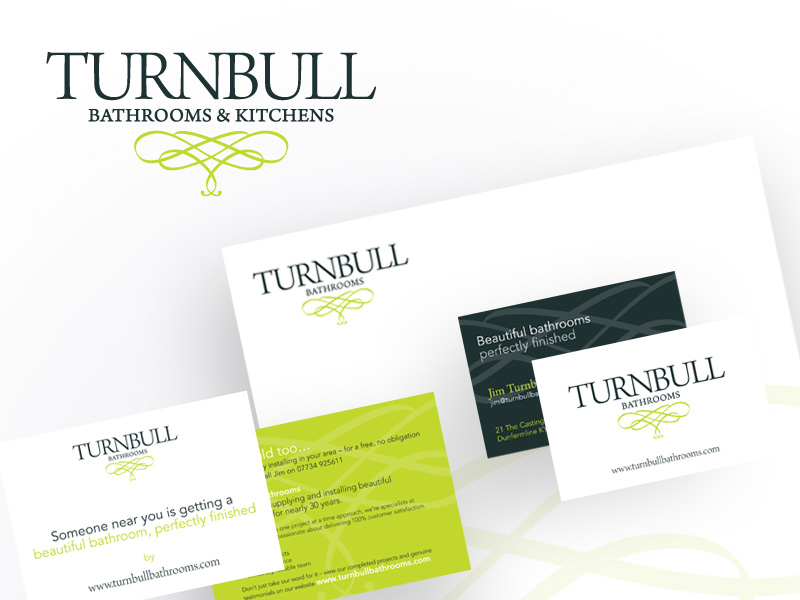 Logo and business name refresh for existing business