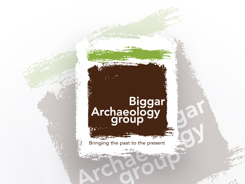 Biggar Archaeology Group brand and logo