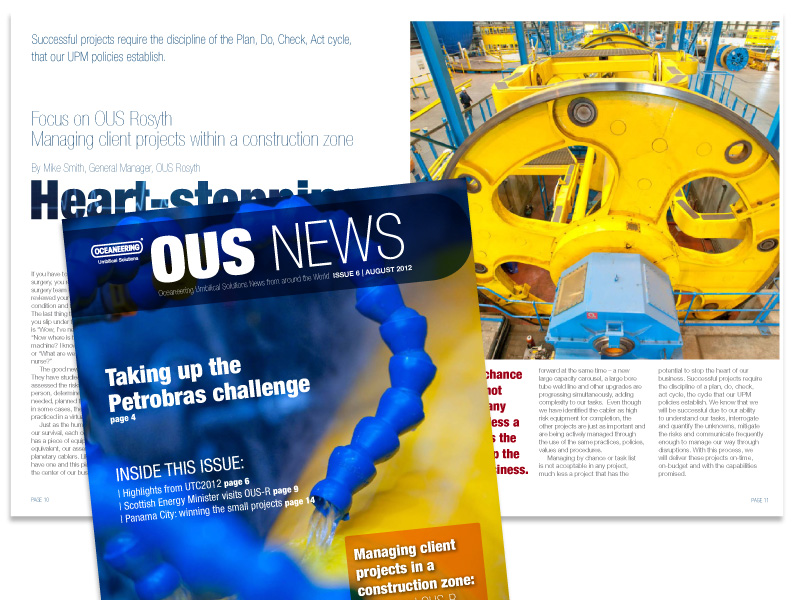 Oceaneering Umbilical Solutions Staff Magazine*