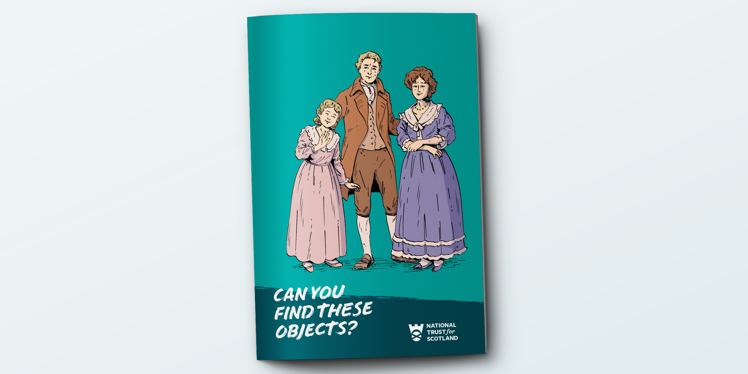 National Trust for Scotland Children's flash cards