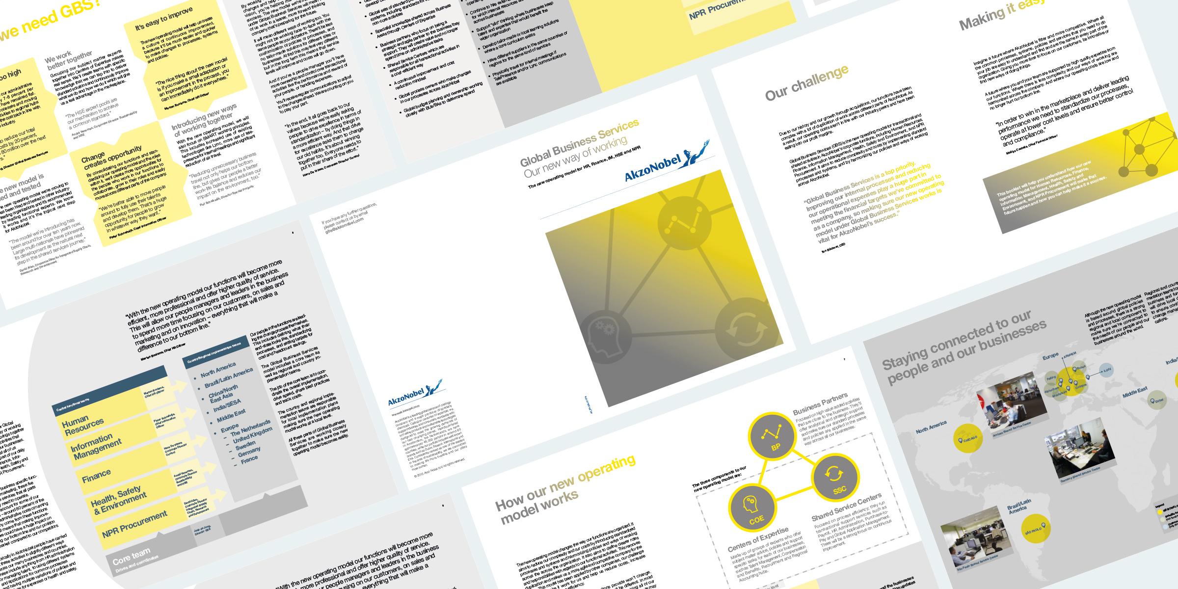 Akzonobel corporate restructure guide