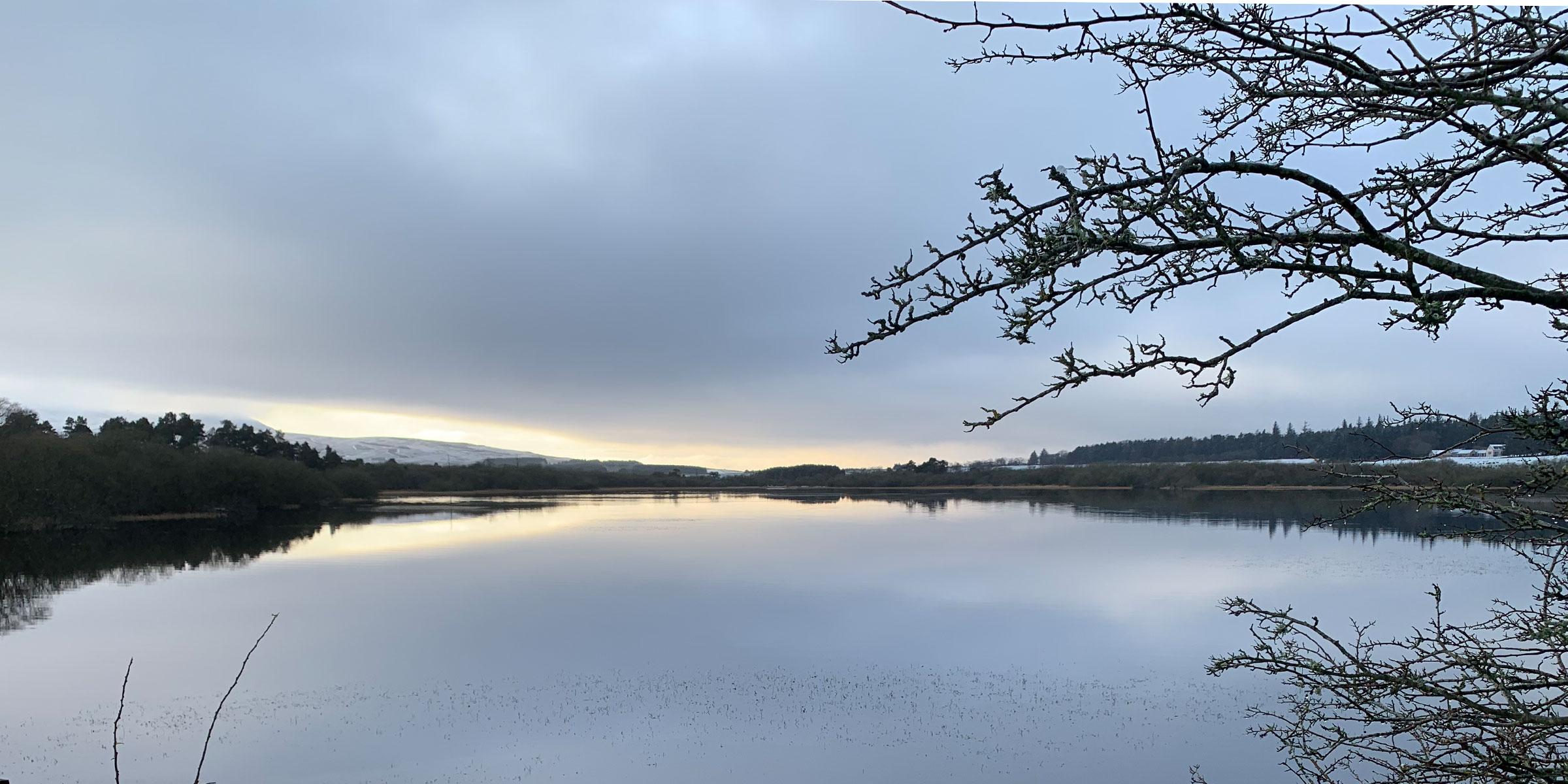Threipmuir Reservoir Pentland Hills