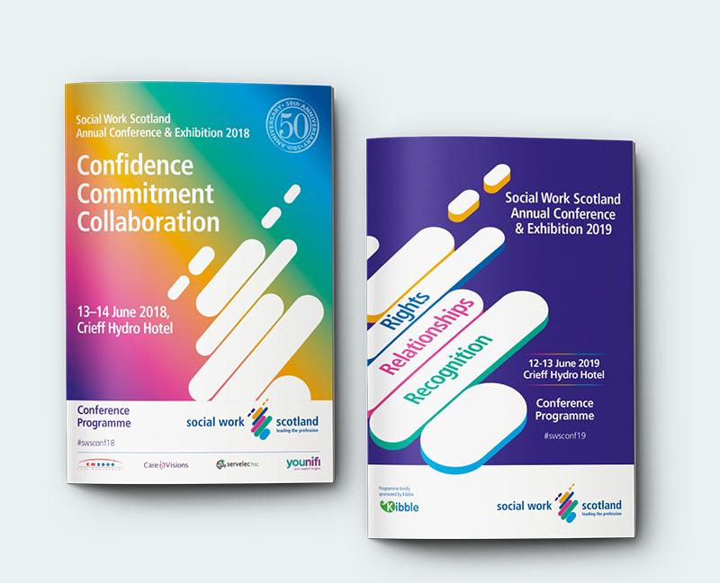 SHSC Event design for Social Work Scotland Annual conference